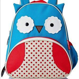 New Skip Hop Owl Little Kid Backpack